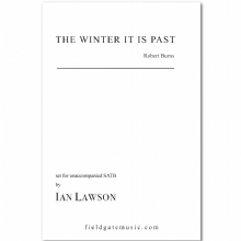 The Winter it is Past (SATB) Ian Lawson